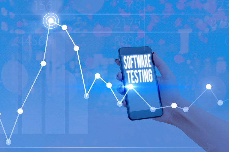 Mobile Software Testing Analytics Chart